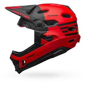 Bell Super DH MIPS Helmet matt/gloss red/black fasthouse
